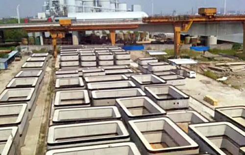 Zhongyi construction machine (Suzhou) pipe corridor component production base