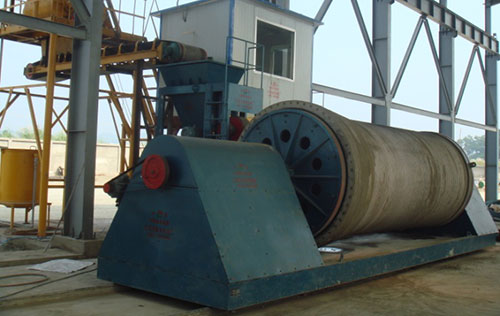 Horizontal roller machine used in Vietnam old street production site