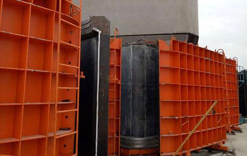 Prefabricated pipe jacking die used in Xiangyang production site