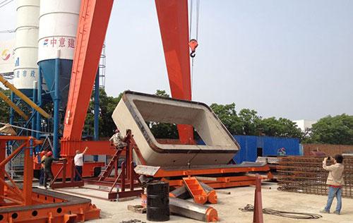 Pipe jacking rack for Yangzhou Zhongyi production site