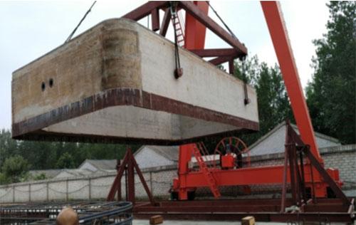 Pipe jacking hanger for Yangzhou Zhongyi production site