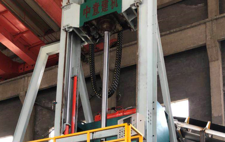 Radial extrusion pipe making equipment used in Qingdao three Xin Technology