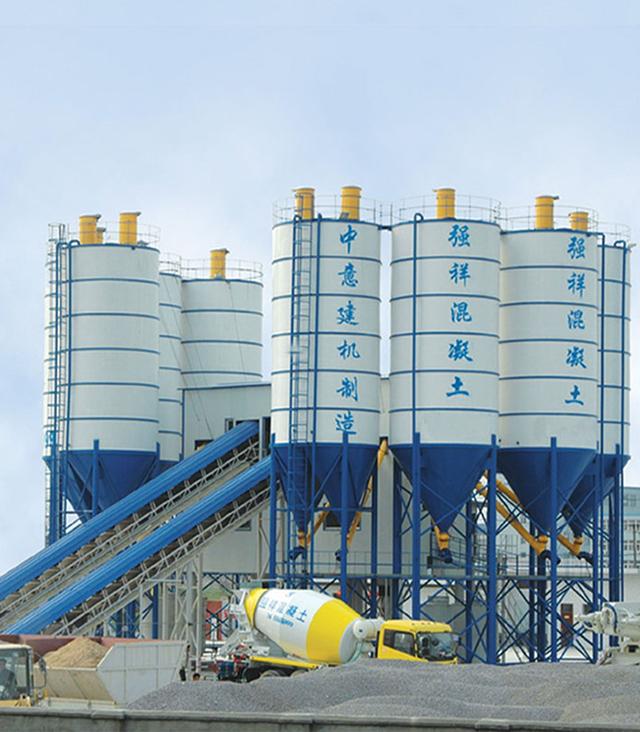 HZS120--HZS150 Concrete Mixing Plant