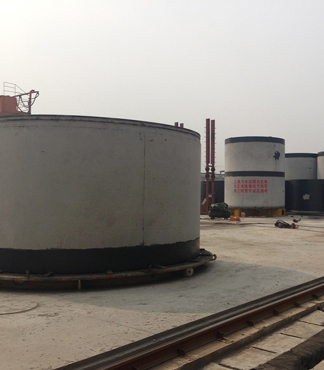 The largest diameter reinforced concrete pipe jacking of 4000  2500