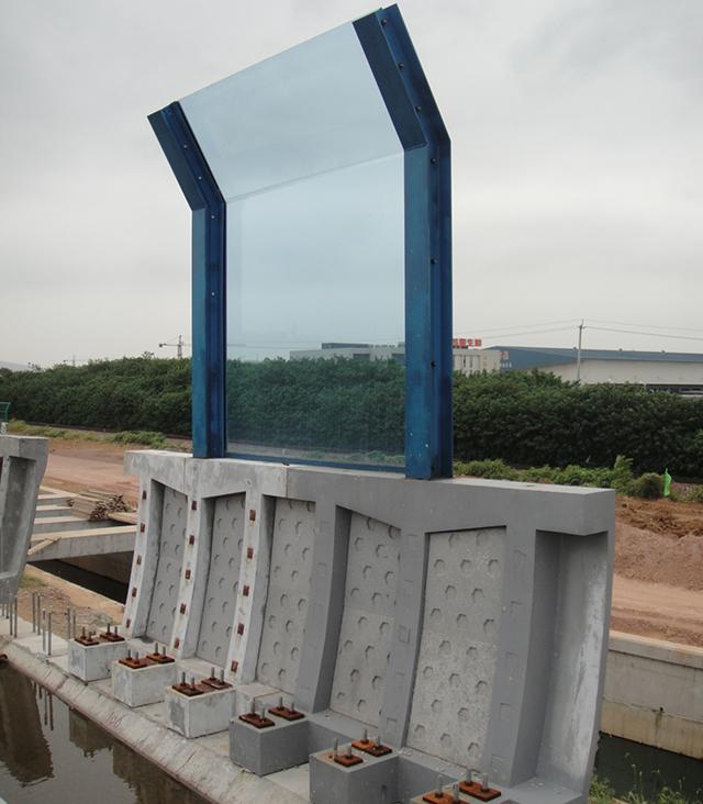 Sound barrier concrete components