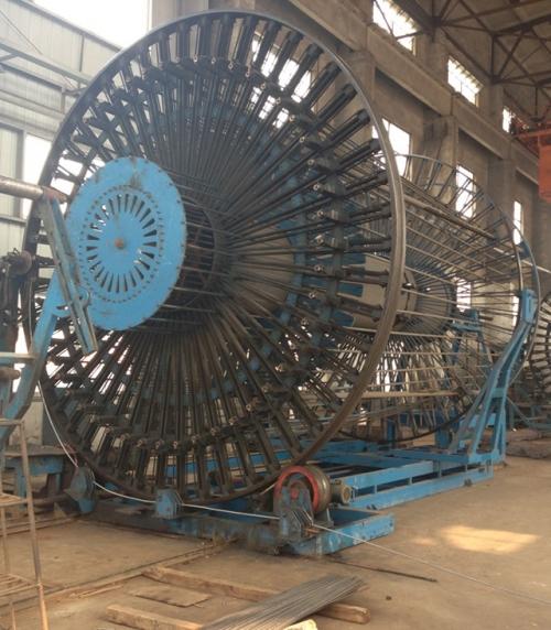 Ф4000 full automatic roll welding machine (Shanghai city construction companys double station welding site)