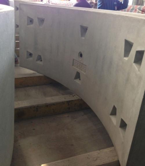 Concrete pipe sheet